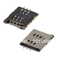 """Wholesale Ipad Sim Card Reader - Wholesale-DHL Freeshipping """"SIM Card Tray Slot Holder Reader Connector Replacement Part For iPad 2 50pcs lot"""