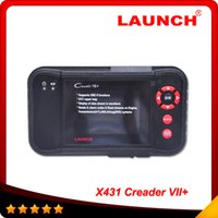 Wholesale Launch Creader Vii Mazda - 100% Original Launch Creader Creader VII+ same function with CRP 123 with Multi-brand cars and high qualitywith free shipping