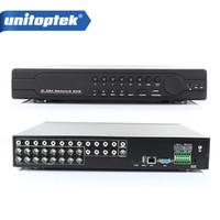 Wholesale dvr hdmi output - 16Ch Full 960H D1 DVR Realtime Recording Playback With HDMI 1080P Output 16 Channel 16Ch Hybrid DVR NVR CCTV Onvif P2P Cloud