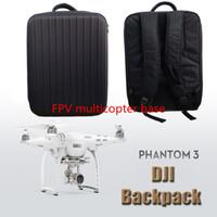 Wholesale Walkera Order - 2015 Fashion DJI Waterproof Bag DJI Phantom 3 professional DJI Phantom Backpack quadcopter fpv drone VS Walkera QR X350 pro toy order<$18no