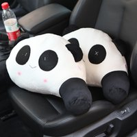 Wholesale Lumbar Pillow Panda - Panda lumbar cartoon car lumbar cushion lumbar Car