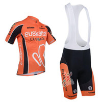 Wholesale 2013 euskaltel Team Cycling Jersey Cycling Wear Cycling Clothing shorts bib suite euskaltel A