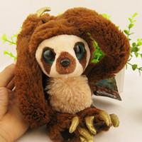 Wholesale Croods Monkey Belt - Wholesale-65CM Belt Monkey Toy Long Arm Monkey Plush Dolls the Croods Factory Direct Sale Free Shipping