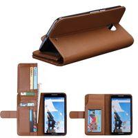 Wholesale Leather Case Nexus Frame - Wallet Credit 7 Cards Photo Frame Litchi Skin Stand Flip Leather Long Iwallet Case Cases Pouch For Motorola Nexus 6 Nexus6 1pcs 2pcs 5pcs