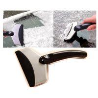 Wholesale Plastic Snow Shovels Wholesale - 2PCS Vehicle Car Stainless Steel Remove Snow Ice Shovel Scraper Defroster Wovel Spade