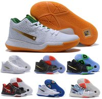 Wholesale Signature White - Hot kyrie Basketball Shoes Sneakers Men Gold Air kyries Irving 3 Celtics Signature Game Athletics Man Tennis Trainers Zapatillas Sport Shoe