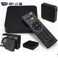 2016 caldo hot-shoe MXQ smart box HD set di quad-core TVBOX MX M8 MX3