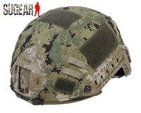 Wholesale Ballistic Covers - Wholesale-2015 Professional Tactical Helmet Cover For Ops-Core Fast Ballistic High Quality Nylon Durable Helmet Cover For Outdoor Sports