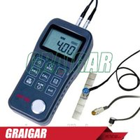 Wholesale High Temperature Transducer - Ultrasonic Thickness Gauge meter tester MT160 Measure Wide Range Of Material Transducer for coarse grain material and high temperature