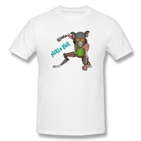 Wholesale Teenage Male Fashion - T Shirts Pickle T-Shirt Rick and Morty Teenage Crew Neck 100% Cotton Short Sleeve Plus Size Male Tees Printing