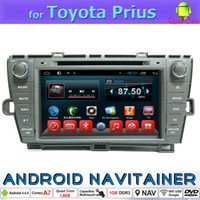 Wholesale Gps Navigation Systems For Toyota - Android Central GPS Multimedia Built In Car Navigation Systems for Toyota Prius 2008 2009 2010 2011 2012 2013 2014 2 Din Car Dvd Player