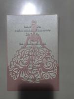 образец бизнеса оптовых-лазерная резка кружева белая Свадебная открытка свадебные приглашения элегантные свадебные приглашения карты День Рождения бизнес-партия приглашения карты, образцы