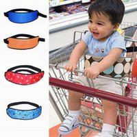 Wholesale Chair Straps - Safety Belt Supermarket Stroller Infant Kids Chair Seat Belt Children Cotton Belts for Baby Shopping Cart Wraps Strap DX