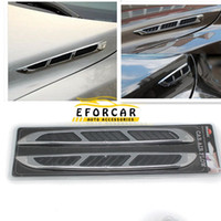 ingrosso autoadesivo dell'automobile-Car Hood Front Side Decoration Car Air Aspirazione flusso adesivo Shark Gills