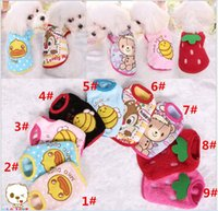 Wholesale Dog Clothes Bear - 2016 New Teddy Bear Dog Yorkshire Dog Cat Puppy Pet Clothing pet Clothes Warm Coat Apparel Small Pet Dogs Cats Supplies 9 Colors Retail