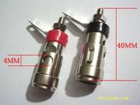 Wholesale Speaker Posts - 4PCS brass Speaker Binding Post spring loaded subwoofer basket terminal