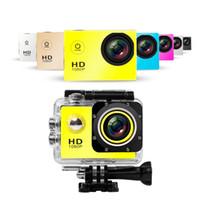 ingrosso nuove macchine fotografiche-La migliore fotocamera nuovissima Full HD 1080P SJ4000 A9 Telecamera per immersione 12MP 30M Telecamera per riprese sportive impermeabile DV CAR DVR