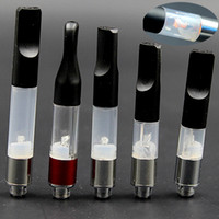 Wholesale Atomizer Cartridges - BUD Touch Vaporizer WAX CBD Hemp Oil Atomizer 510 Cartridge O Pen CE3 0.1 0.3 0.4 0.6 1.0ml vapor thick Waxy Smoking Mini Tank DHL at068