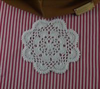 """Wholesale crochet napkins - handmade crocheted doilies Vintage flower, lace crochet doily cup mat vase mat coaster 16cm 6.4"""" table mat Table Napkin Lot 10Piece a008"""