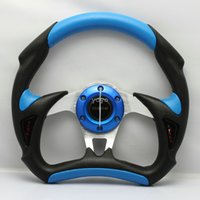 MOMO Volante PU PVC Racing Car Steering