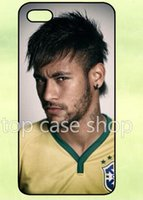 Wholesale Cheap 5s Cases - Hot sale Football Neymar Print Plastic Cheap Phone Shell Cases For Iphone 4 4S 5 5S 5C 6 6 Plus