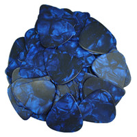 Wholesale printed guitar picks for sale - of Heavy mm Blank guitar picks Plectrums No Print Celluloid Pearl Blue