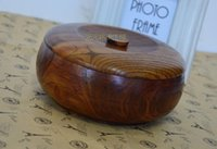 Wholesale Natural Solid Wooden Bowl Handmade Eco friendly Wood Bowls