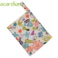 Wholesale sanitary bags resale online - Ocardian sanitary napkin bag Hot Selling Reusable Washable Wet Bag For Sanitary Pad Menstrual Sanitary Aunt Bag GIFT