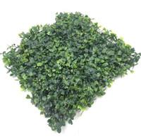 ingrosso tappeto falso-prato in erba sintetica artificiale in plastica 25 * 25 cm
