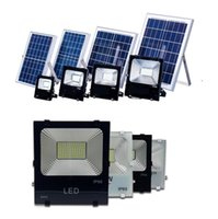 Wholesale Roofing Square - Waterproof IP65 LED Solar Floodlights With Remote 30W 50W 100W Flood Billboard Lamp Outdoor LED Garden Roof Spotlight Square Parking