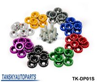 Wholesale Washer Wholesale - Tansky - 8PCS LOT JDM Style Fender Washers Bumper Washer Lisence Plate Bolts Kits for CIVIC ACCORD TK-DP01S