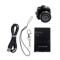 Wholesale Smallest Mini Camera Y2000 Camcorder Video Recorder DVR Spy Hidden Pinhole Web Cam Mini Camera Best Christmas Gifts