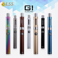 Wholesale Adjustable Lowering Kit - LSS new G1 with ego pen 650mah battery starter kit with low 0.5ohm resistance sub ohm electronic cigarette Free shipping!