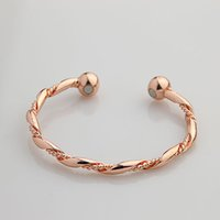 Wholesale Magnetic Therapy Bangles - Magnetic power Copper Therapy Bracelet Bracelet Bangle C06