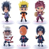 Wholesale Star Q - DHL 6 design Naruto Q Edition Naruto Anime Action Figures Collection toys 2016 new Children Naruto Cartoon PVC Figures Model toys B