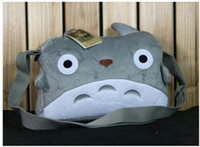 Wholesale Totoro Canvas - Moive TV Ghibli Miyazaki's My Neighbor Totoro plush Inclined shoulder bag handbag