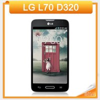 Wholesale shop accessories online - 11 Shopping Festival Original Unlocked LG L70 D320 Dual Core Inch Smartphone GB MP Camera GPS WiFi LG Android phone
