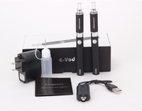 evod kit presente venda por atacado-Evod MT3 Cigarro Eletrônico Starter Kit 650 mah 900 mah 1100 mah Cores EVOD BCC MT3 Ecigarette Embalagem Do Presente Duplo