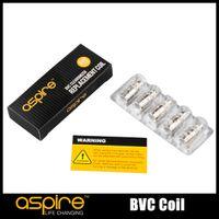 Wholesale Aspire Coils - 100% Original Aspire BVC Coil Bottom Vertical Coils for Aspire CE5 CE5-S Mini Vivi Nova BVC BDC atomizers
