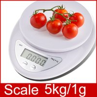Wholesale 2015 New g g kg Household Kitchen Scale Mini High Precision Measurement Digital Scales Balance Weight LED Electronic