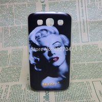 Étuis Pour Téléphone Portable Marilyn Monroe Pas Cher-Gros-pour Samsung Galaxy S3 I9300 Case Aztec Russie Brésil Flag Despicable Me Marilyn Monroe Audrey Hepburn Hard Case Cell Phone