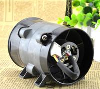 şiddetli fan toptan satış-Otomobil takma güçlü güç elektrikli turbo 12 V 16.5A 10 CM süper şiddetli fan (ince çizgi)