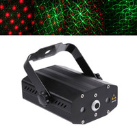 Wholesale Laser Dot Projector - Wholesale-Mini Multicolor Red&Green Moving Party Stage Laser Light Projector dots stars circles butterfly smile face Lighting Effect