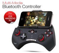 bluetooth tablet gamepad toptan satış-Ipega PG-9025 Oyun Bluetooth Denetleyici Gamepad Joystick iPhone iPad Samsung HTC Moto Android Tablet PCS Siyah / Beyaz
