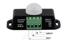 ingrosso interruttori di timer chiari-12 V 24 V Interruttore Sensore LED Dimmer Timer Movimento per Nastro Striscia LED Nastro Rilevazione Infrarossi 6A 12 Volt 24 Volt Campo Induzione 8m - Express