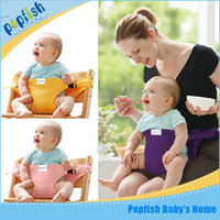 Wholesale Eat Seat - Multicolor   30 pcs lot Seat belt baby Portable Seat Children Dining Chair Belt Baby Eat Chair