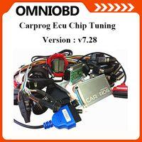 Wholesale Carprog Repair - 2016 DHL Free Newest V7.28 Carprog 7.28 Programmer Auto Repair Airbag Reset Tools Professional CarProg ECU Pro Full 21 Adaptors