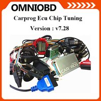 Wholesale Tools For Repair Airbags - 2016 DHL Free Newest V7.28 Carprog 7.28 Programmer Auto Repair Airbag Reset Tools Professional CarProg ECU Pro Full 21 Adaptors