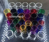 zephyrus v2 venda por atacado-Pirex substituição tubo de vidro para UD Goblin mini v2 v3 Goliath v2 Zephyrus v2 atomizador tanque Bellus RTA