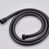 Wholesale Bronze Hose - Wholesale And Retail Free Shipping Oil Rubbed Bronze Shower Hose Accessories Stainless Steel 1500mm Hose
